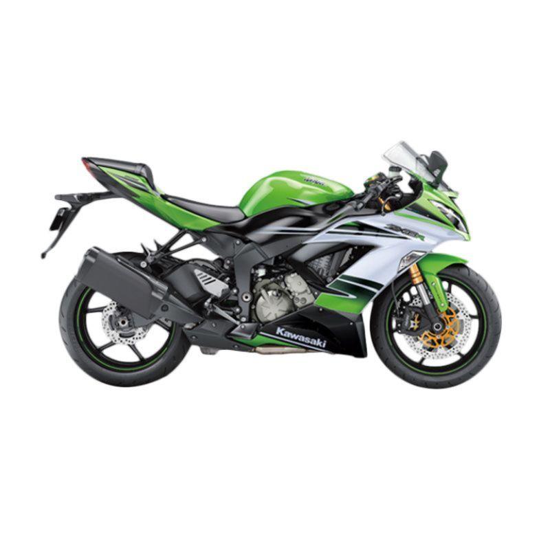 Kawasaki Ninja ZX-6R 636 ABS Special Edition Green Sepeda Motor [DP 105.000.000]